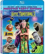 Hotel Transylvania 3 [Blu-ray + DVD + Digital] (2018) - $17.95