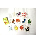 Vintage Card Game Catch Fish Children's Kids Missing One Card Arco - $9.90