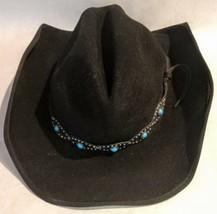 Scala Authentic Western Style Wool Hat Dorfman Pacific Company Handmade ... - $29.69