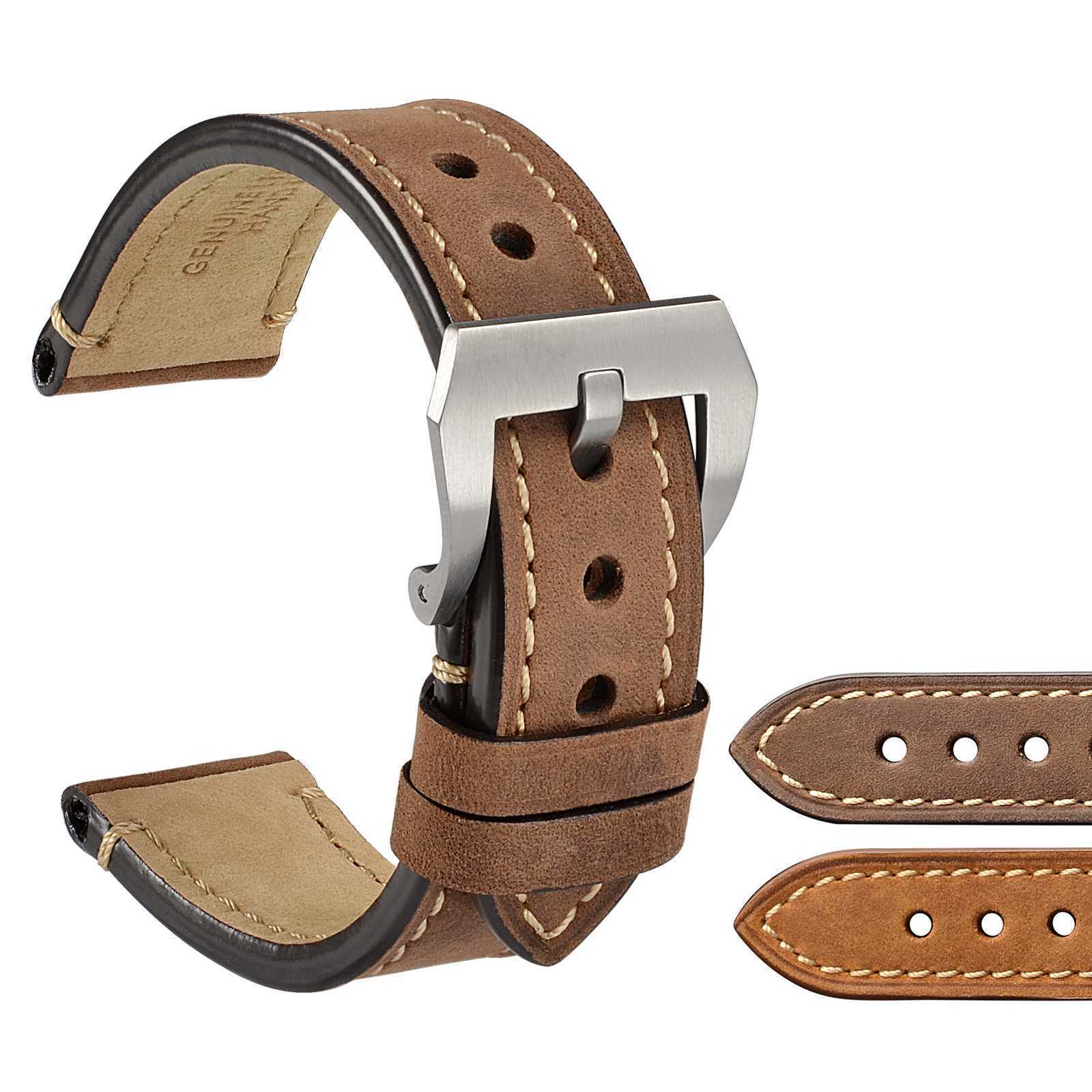 7eaf2153e95 WOCCI Saddle 20mm 22mm 24mm Suede Watch Band and similar items