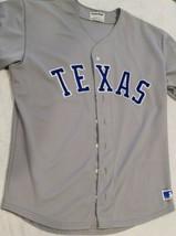 Vintage 1985 Texas Rangers MacGregor Sand Knit Away Jersey (Size 44) - $185.25