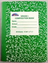 Grade One Composition Book 48 Sheet 72 pcs sku# 1455129MA - $100.84