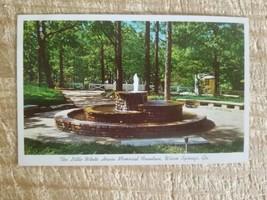 THE LITTLE WHITE HOUSE MEMORIAL FOUNTAIN,WARM SPRINGS,GA.VTG UNUSED POST... - $9.49