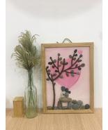 Pebble Painting, Pebble Art, Wall Painting, Wall Art, Love Painting , Gift - $39.50