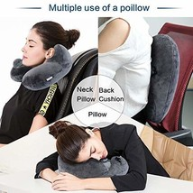 FINDANOR Inflatable Travel Pillow, The Inflatable Neck Pillow with Washa... - $14.84