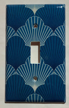 Japanese Pattern Art Scallop Light Switch Outlet wall Cover Plate Home Decor