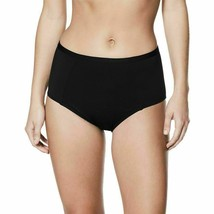 NWT Nike Swimsuit Bikini Bottom High Waist Black/Noir Size XL MSRP: $50 - $16.99