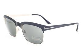 Tom Ford Elena Black Gold / Green Polarized Sunglasses TF437 05R - $165.62