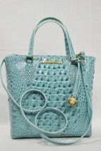 Brahmin Leather Harrison Carryall Satchel/Shoulder Bag in Glass Glossy Melbourne - $199.00