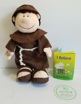 Little Francis Doll Monk with I believe Booklet General secretariat of F... - $9.45