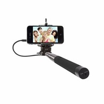 Thumbsup Selfie Stick For Smartphones No Bluetooth Required Expandable B... - $8.90