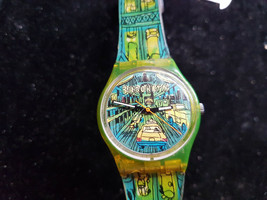 Vintage 1997 Passage To Brooklyn Swatch Watch GJ120 Runs For You To Fix Band - $115.00