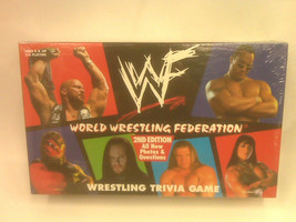 New - World Wrestling Federation - Wrestling Trivia Game - 2ND Edition -1998 - $35.99
