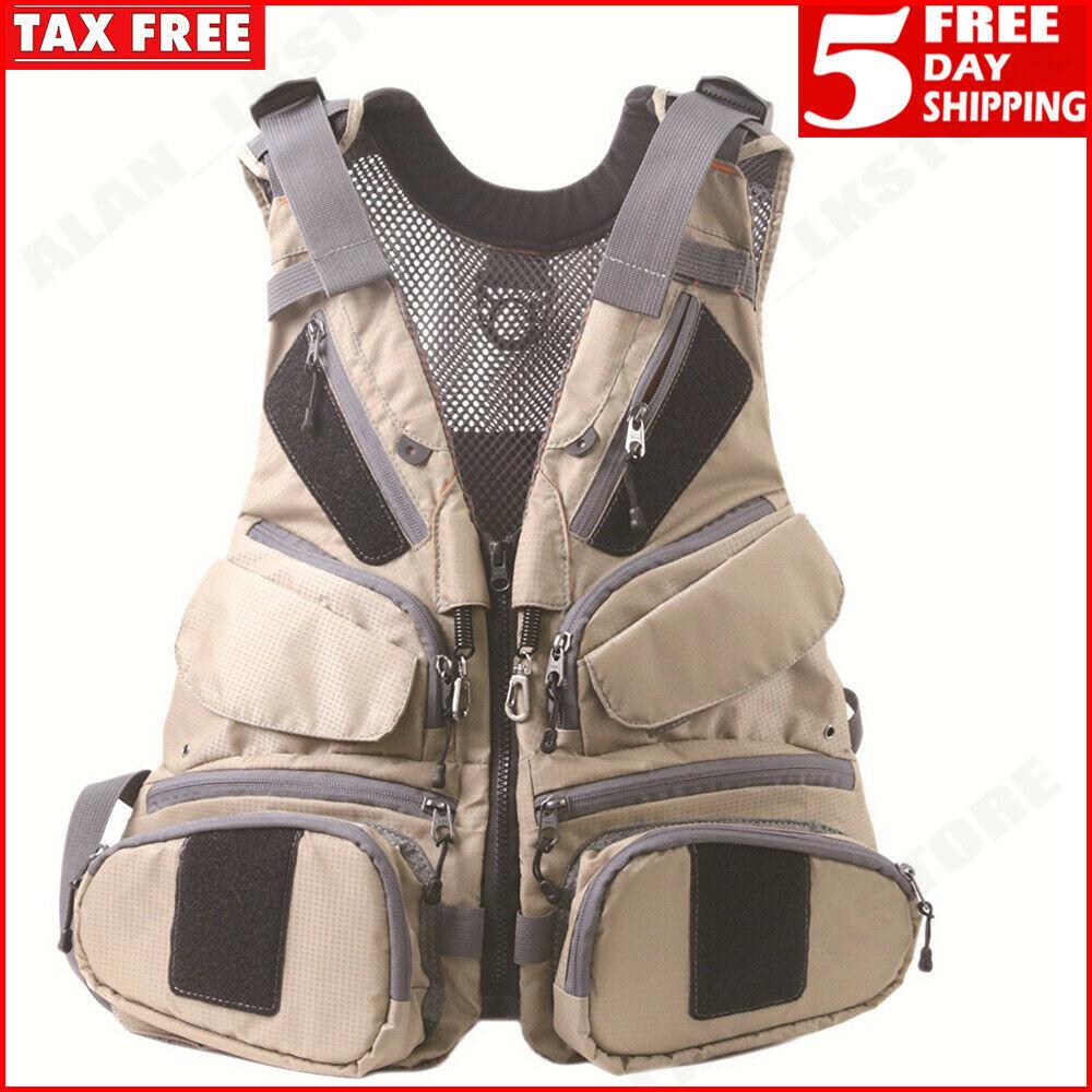 f9d7b0ca8d21a Fly Fishing Vest Pack Muiti-pocket Bag and 50 similar items. S l1600