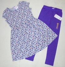Gymboree Girls Hearts Stars Dress Leggings 4 5-6 7-8 NWT - $22.99