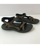 TEVA Leather Sandals F27114K Hiking Trail Shoes Womens Size 6 - $42.80