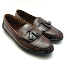Cole Haan Country Men's Driving Loafers Kiltie Tassel Brown Leather Size... - $32.37