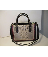 Authentic Brahmin Small Camille Hemlock Westwood Satchel Crossbody Leath... - $217.79
