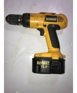 """DeWalt (DW990) 14.4V 1/2"""" Cordless Drill/Driver No charger Sold as not w... - $23.36"""