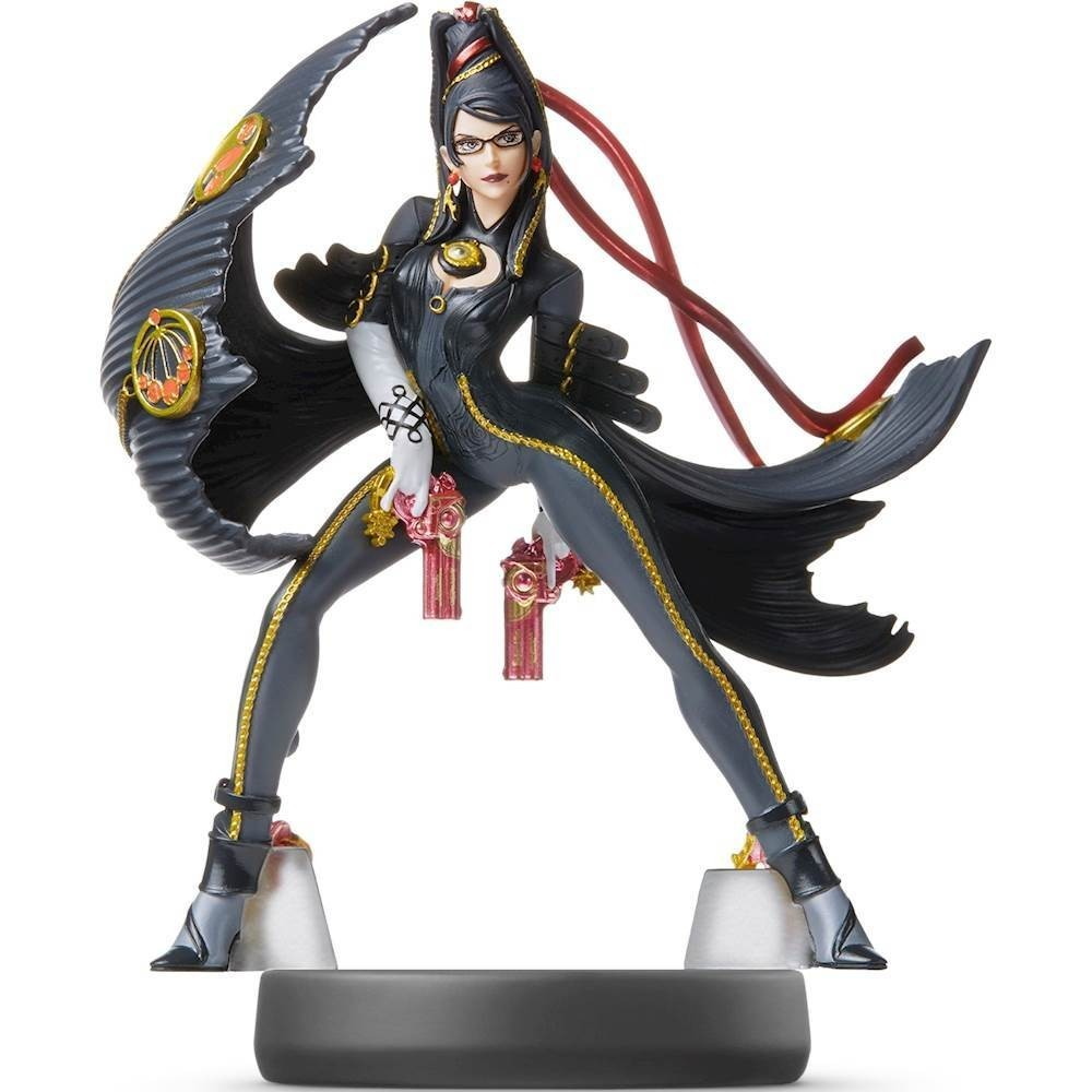 Amiibo Super Smash Bros Bayonetta Player 2 Figure Nintendo Switch 3DS XL WiiU
