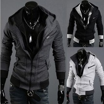 2018 Hot New Double Zipper Slim Fitting Casual Korean Fashion Men Thicke... - $51.00