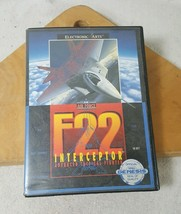 EA Air Force F22 Interceptor Sega Genesis 1991 Electronic Arts Complete - $11.13