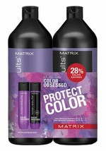 Matrix Total Results  Color Obsessed Shampoo and Conditioner Liter Duo - $40.00