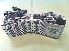 Adaptec 1490826-00 Rev D 68 Pin 5 Pos SCSI LVD 4Ft Cable with Terminator - $23.22