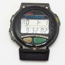 Vtg Timex Scoremaster Golf 18 Hole Score Keeper Quartz Digital Men's Watch - $29.69