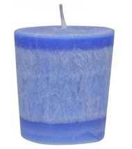 Aloha Bay Holy Temple Scented Votive Candle 2 oz, Case of 12 candles blue - $26.99