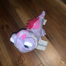 Disney Frozen II Queen Bruni The Fire Spirit Purple Plush Stuffed Animal New - $15.00