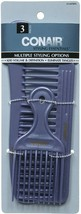 Conair 14498z 3 Piece Styling Essentials Multiple Styling Options Combs - $5.93