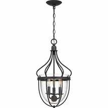 Quoizel CNY5203GK Colony Clear Seedy Glass with Frame Foyer Chandelier, ... - $115.84
