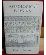 Astrological Origins Cyril Fagan astrology 1973 Zodiac charts constellat... - $20.00
