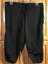 Youth Slotted Adams Black Game Football Pants Size YXL Sale Lot of TWO P... - $6.92