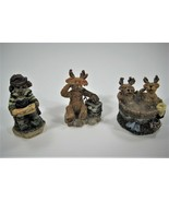 """Boyd's Bearly Built """"Kringle's Village"""" from The Boyd's Collection - 3 P... - $36.69"""