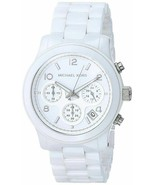 Michael Kors MK5161 Runway Ceramic White Watch for Women - £73.84 GBP