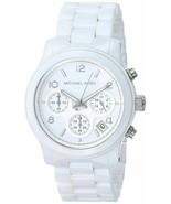 Michael Kors MK5161 Runway Ceramic White Watch for Women - £72.58 GBP