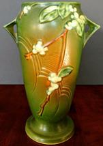 "ROSEVILLE ""Snowberry # IVI-10 Unique Pottery Vase 10.5"" Tall, Perfect!!! - $444.13"