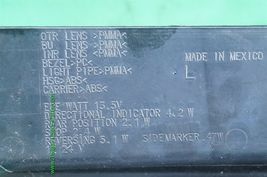 08-13 Cadillac CTS 4 door Sedan LED Rear Tail Light Lamp Driver Left Side - LH image 4
