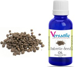 Ambrette Seed Oil  Essential Oils 100% Pure Natural Aromatherapy oils 3M... - $6.86+