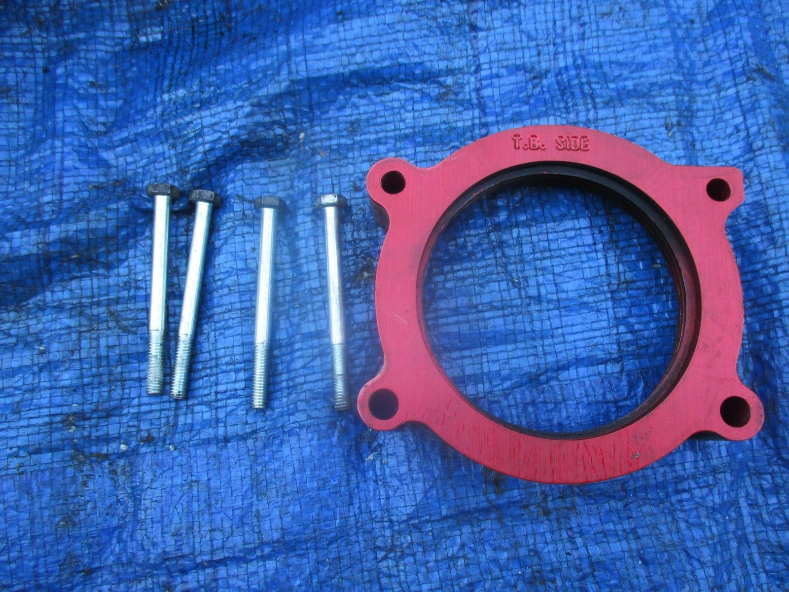 07-14 Chevy Silverado AIRAID Throttle Body Spacer 200-617 Sierra Poweraid 5.3