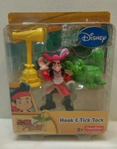 Disney Jake's Neverland Hook & Tick Tock New in package 3+ Fisher Price - $12.99
