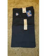 "Dickies Junior Girl's Bermuda Shorts Stretch Uniform Navy 31"" x 13"" Size 5 - $14.80"