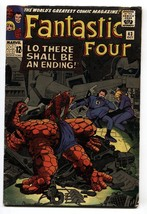 Fantastic Four #43 1965 Jack Kirby- Frightful Four VG - $31.53