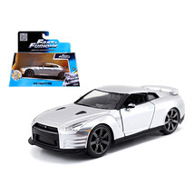 Brian\s Nissan GT-R R35 Silver \Fast & Furious\ Movie 1/32 Diecast Model Car by  - $17.57