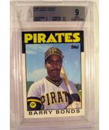 1986 Topps Traded #111 Barry Bonds Beckett BGS 9.0 - $15.79