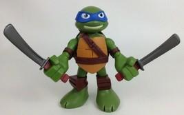 """Leonardo Teenage Mutant Ninja Turtles 6"""" Talking Half Shell Heroes Figur... - $12.82"""