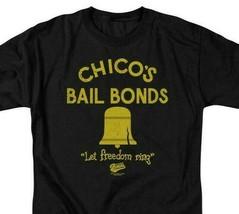 Bad News Bears T-shirt Chicos Bail Bonds 1970s movie retro cotton tee  PAR133 image 2