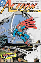 Action Comics Comic Book #641 Superman DC Comics 1989 VFN/NEAR MINT NEW ... - $4.50